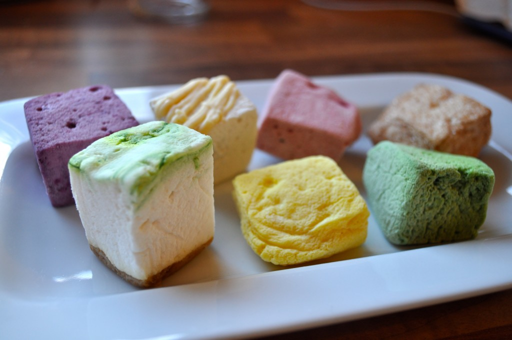 Gourmet Marshmallow selection