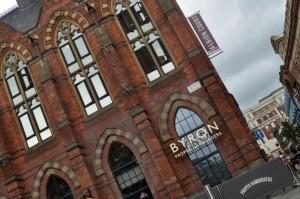 Gorgeous building, housing Byron, Leeds