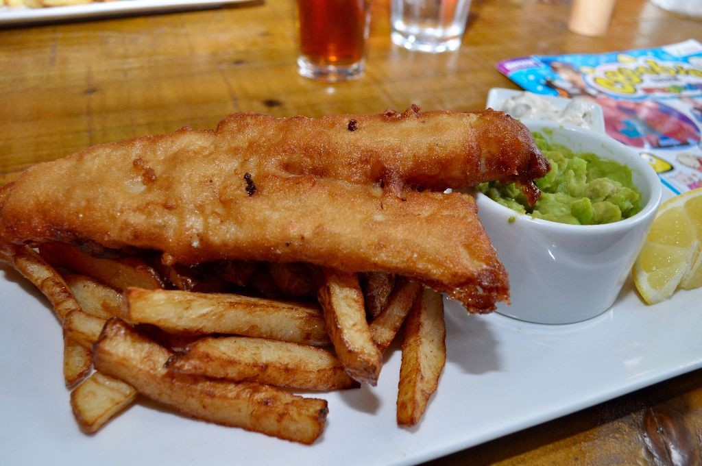 Fish & chips. Classic.