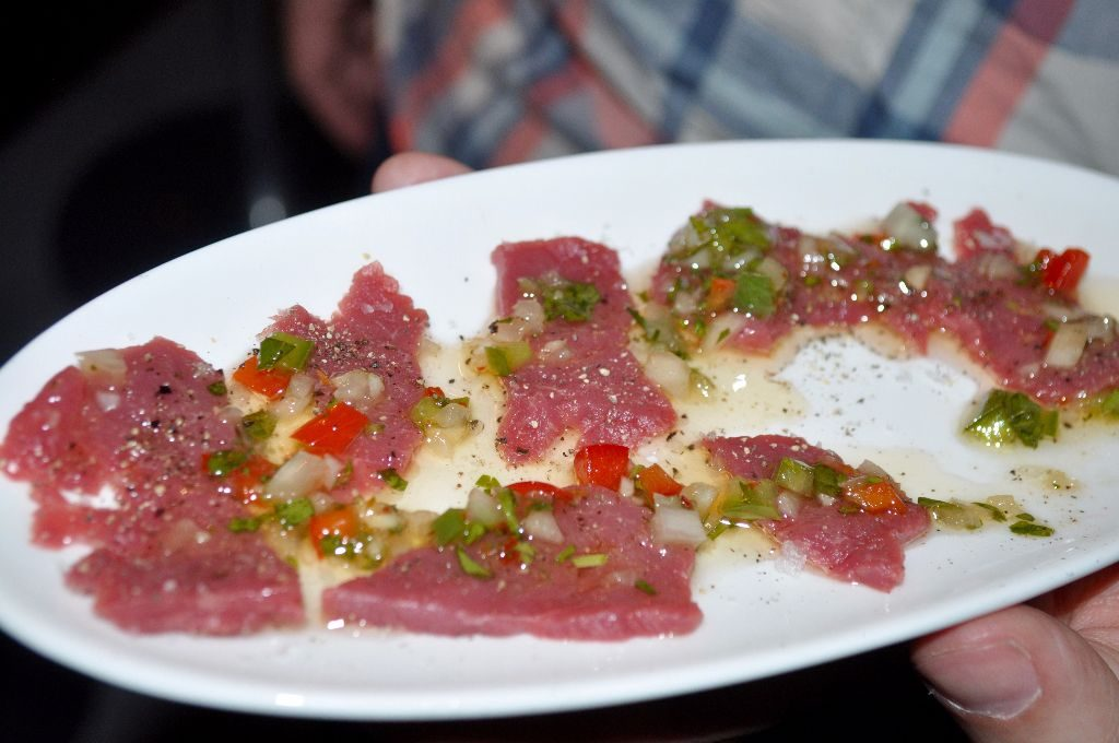 Rump steak & chimichurri