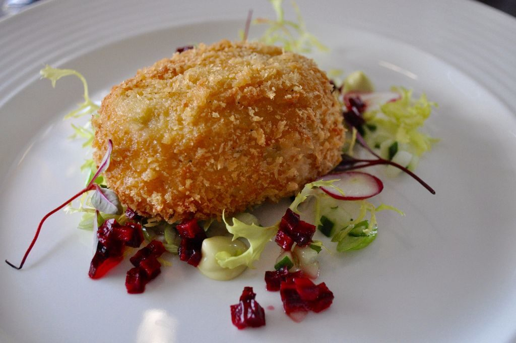 Veal & Goats Cheese Nugget