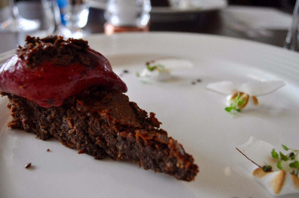 Chocolate & Coconut Torte