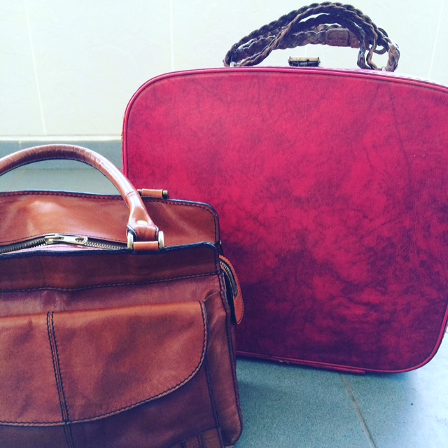 My Red Suitcase