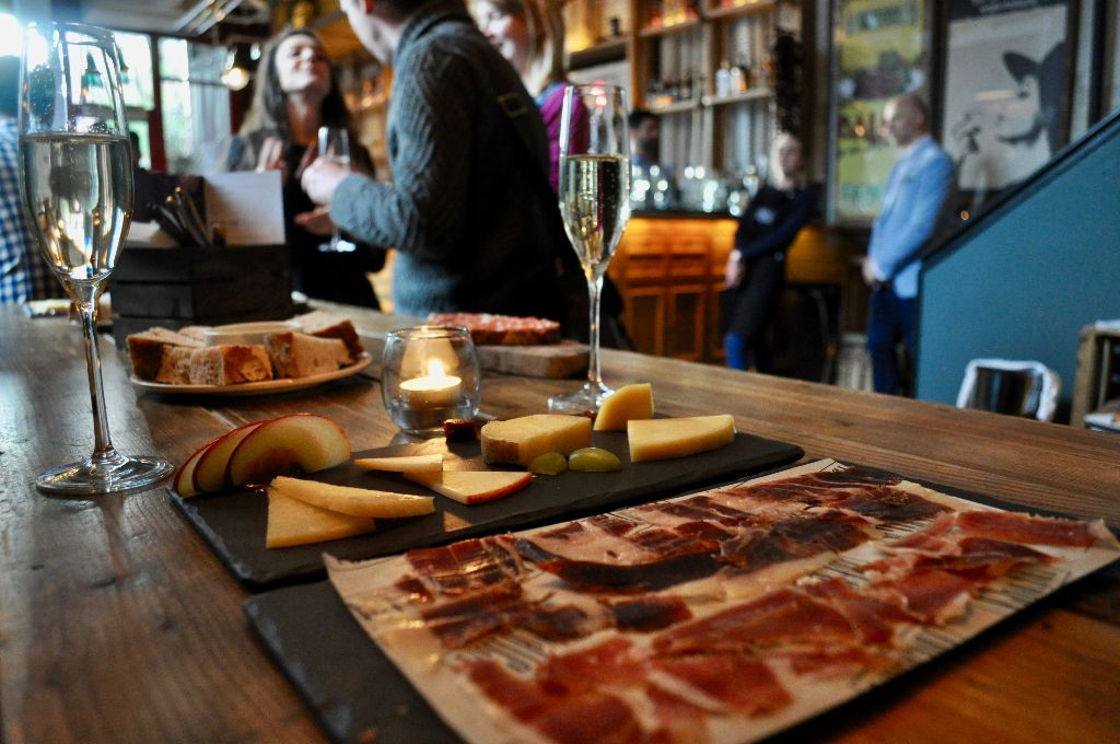 Iberica wine bar Leeds