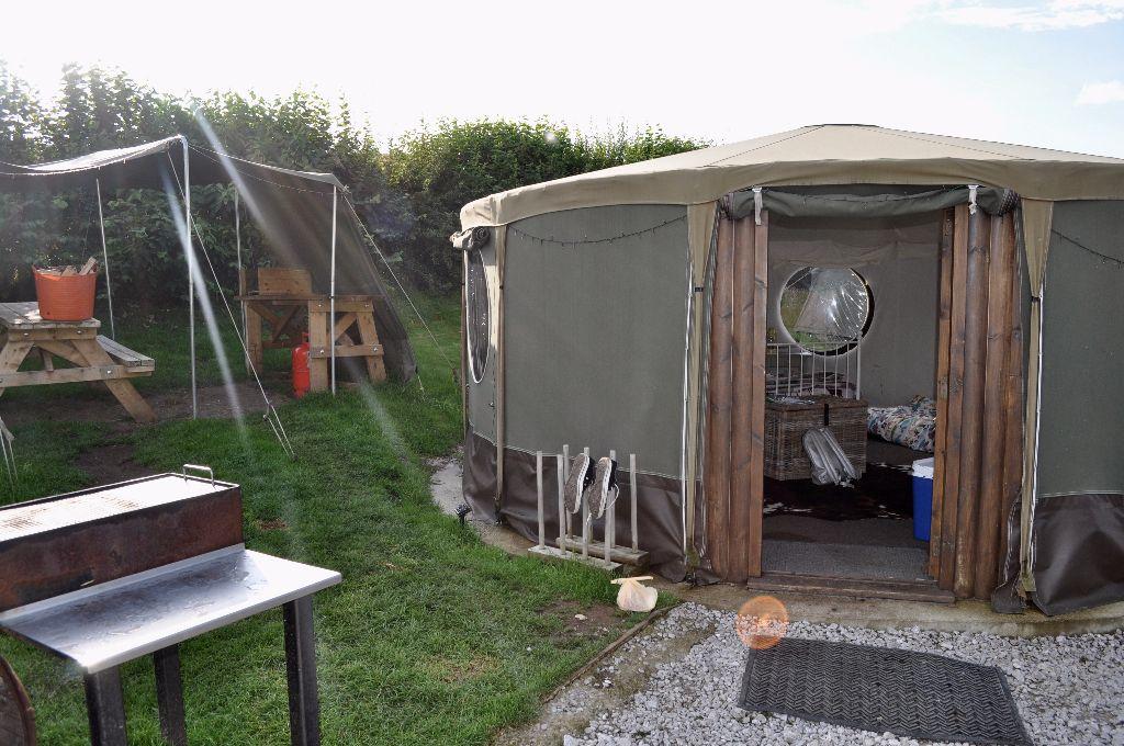 Humble Bee Farm yurt