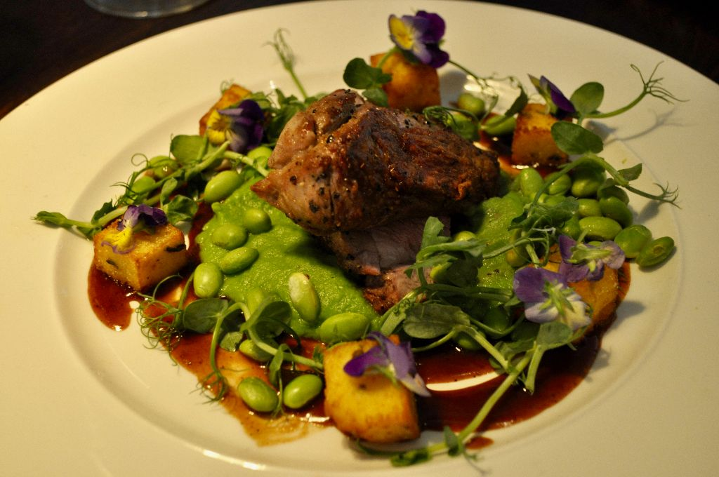 Rump of Lamb, Gusto, Cookridge, Leeds